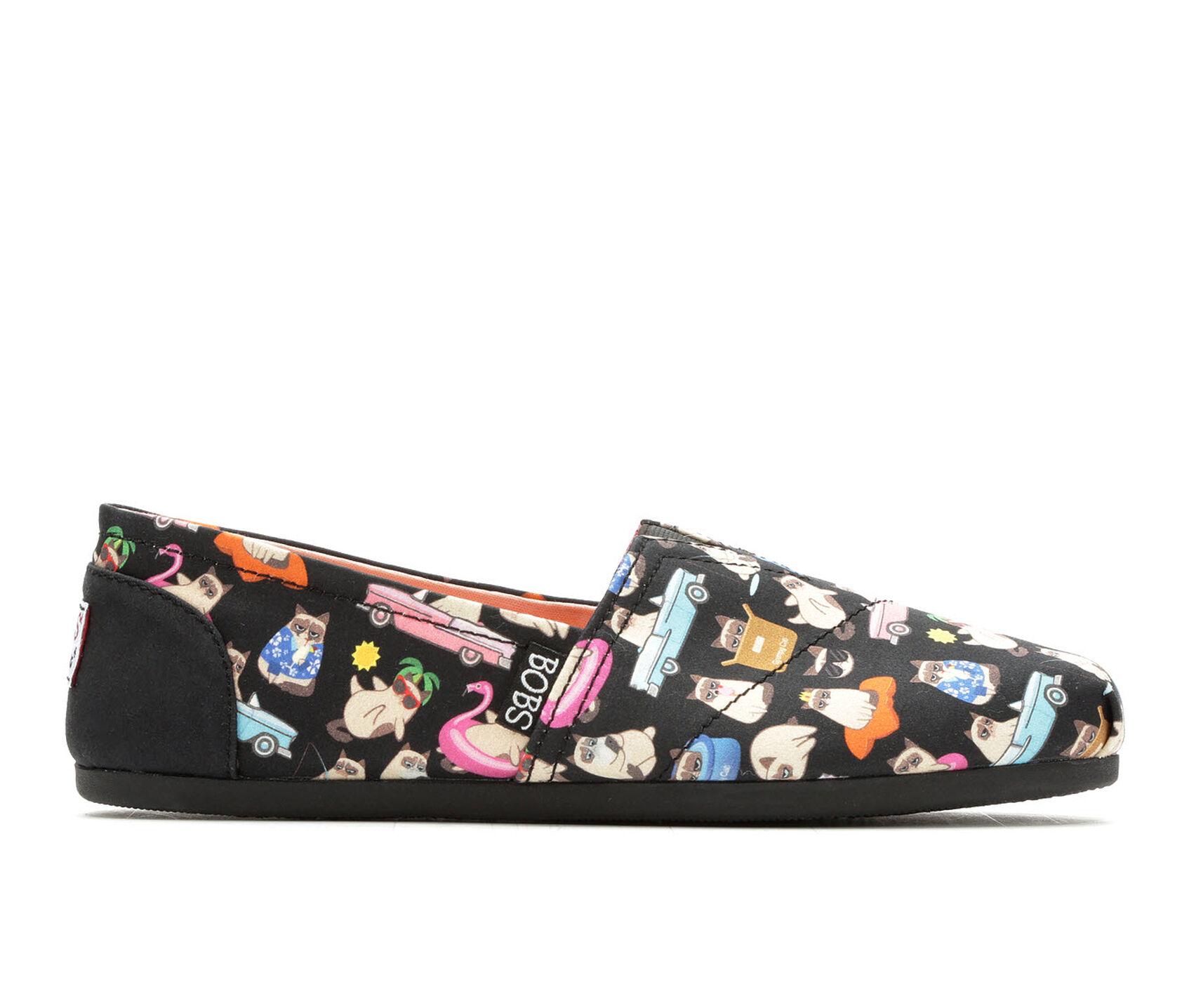 9942f58d0baf5 Women's BOBS Vacation Grumpy Cat 33105 Slip-Ons | Shoe Carnival
