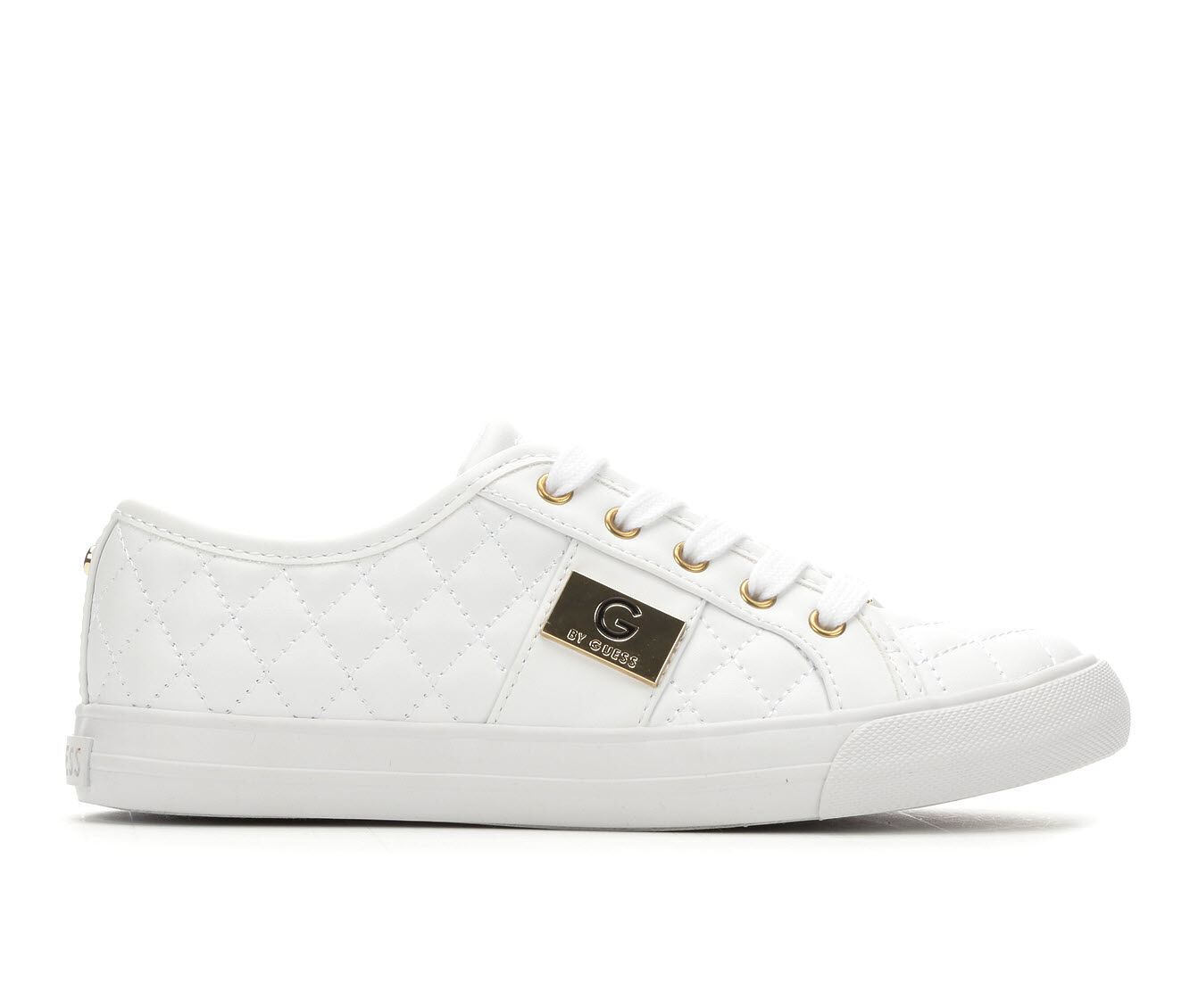 Women's G By Guess Backer Sneakers White