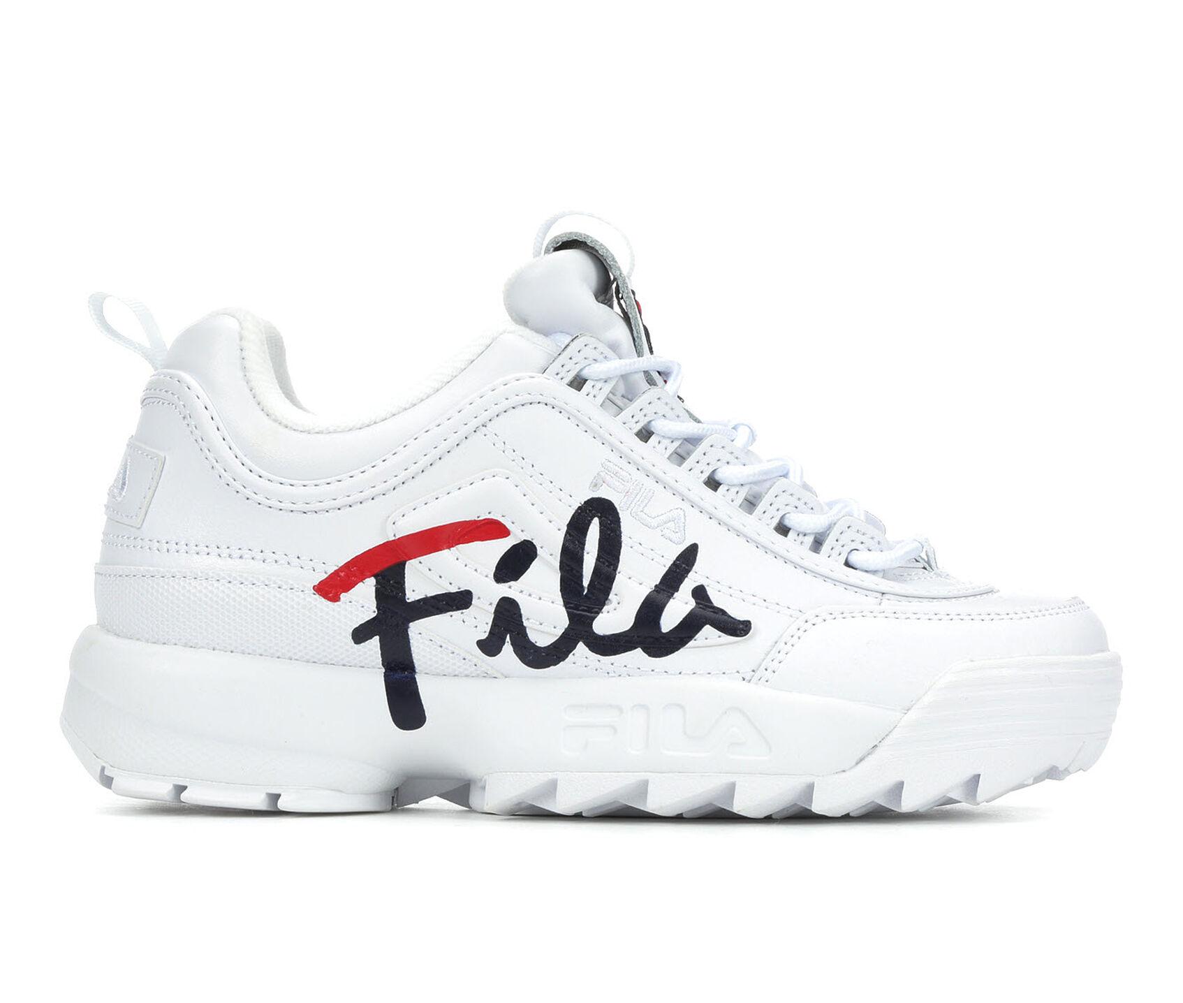 quality design 812e8 8d1e8 Women's Fila Disruptor II Script Sneakers