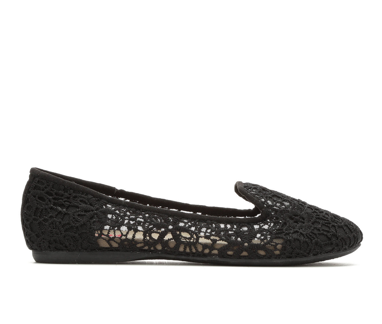 Women's Jellypop Cassian Flats Black Lace