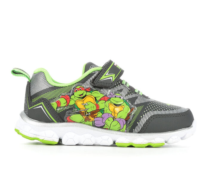 Boys' Nickelodeon Toddler & Little Kid TMNT Lighted 9 Sneakers