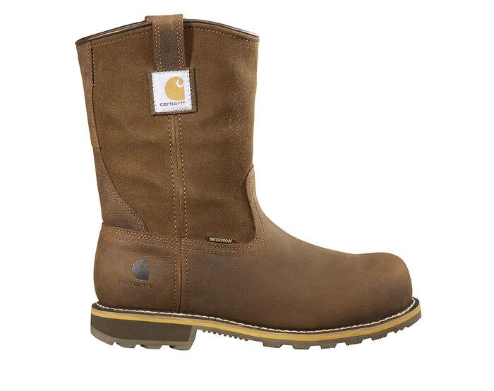 Men's Carhartt CMP1453 Welt Steel Toe Pull-On Work Boots