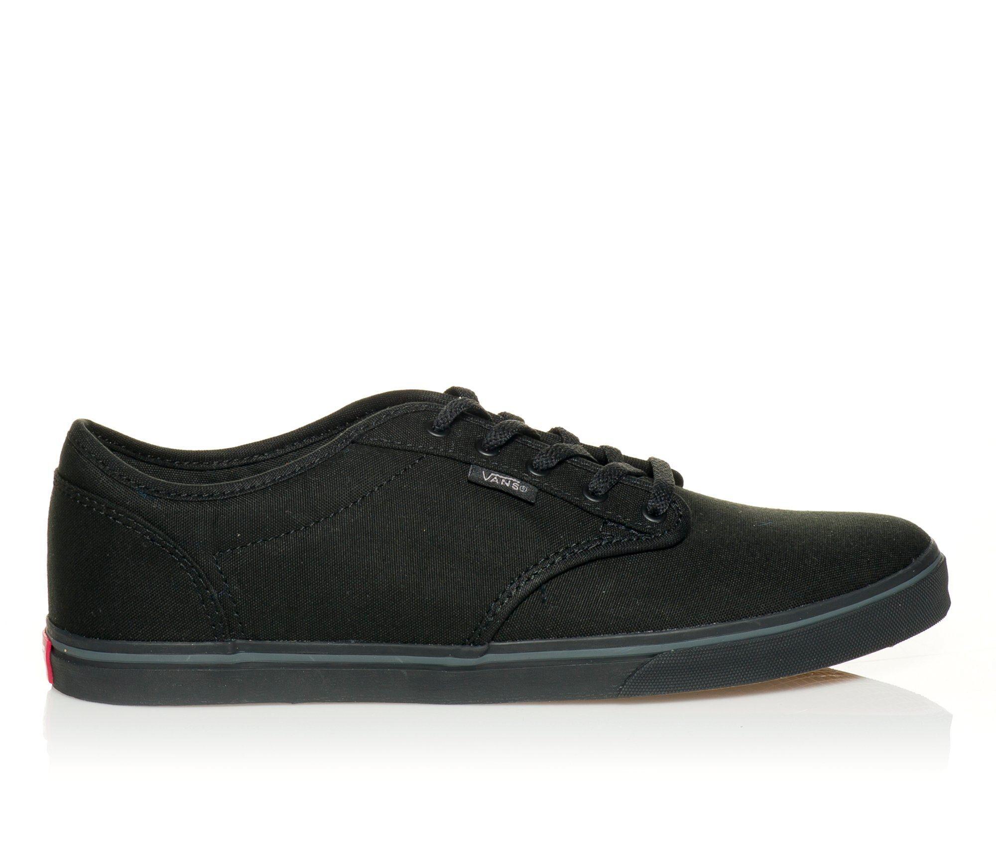 Women's Vans Atwood Low Skate Shoes Black Mono