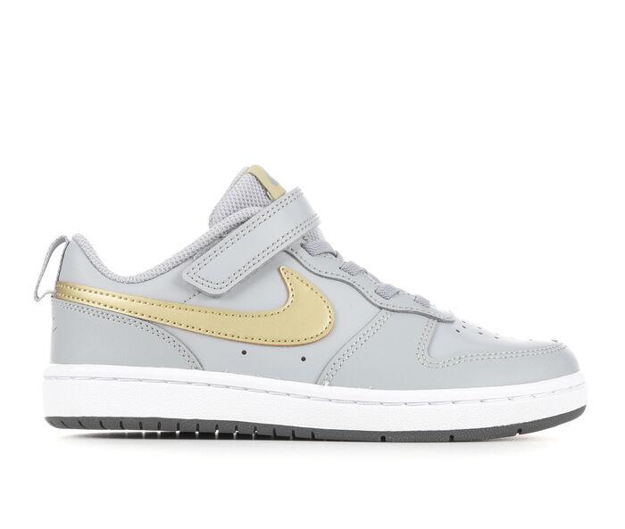 Girls' Nike Little Kid Court Borough Low 2 Sneakers