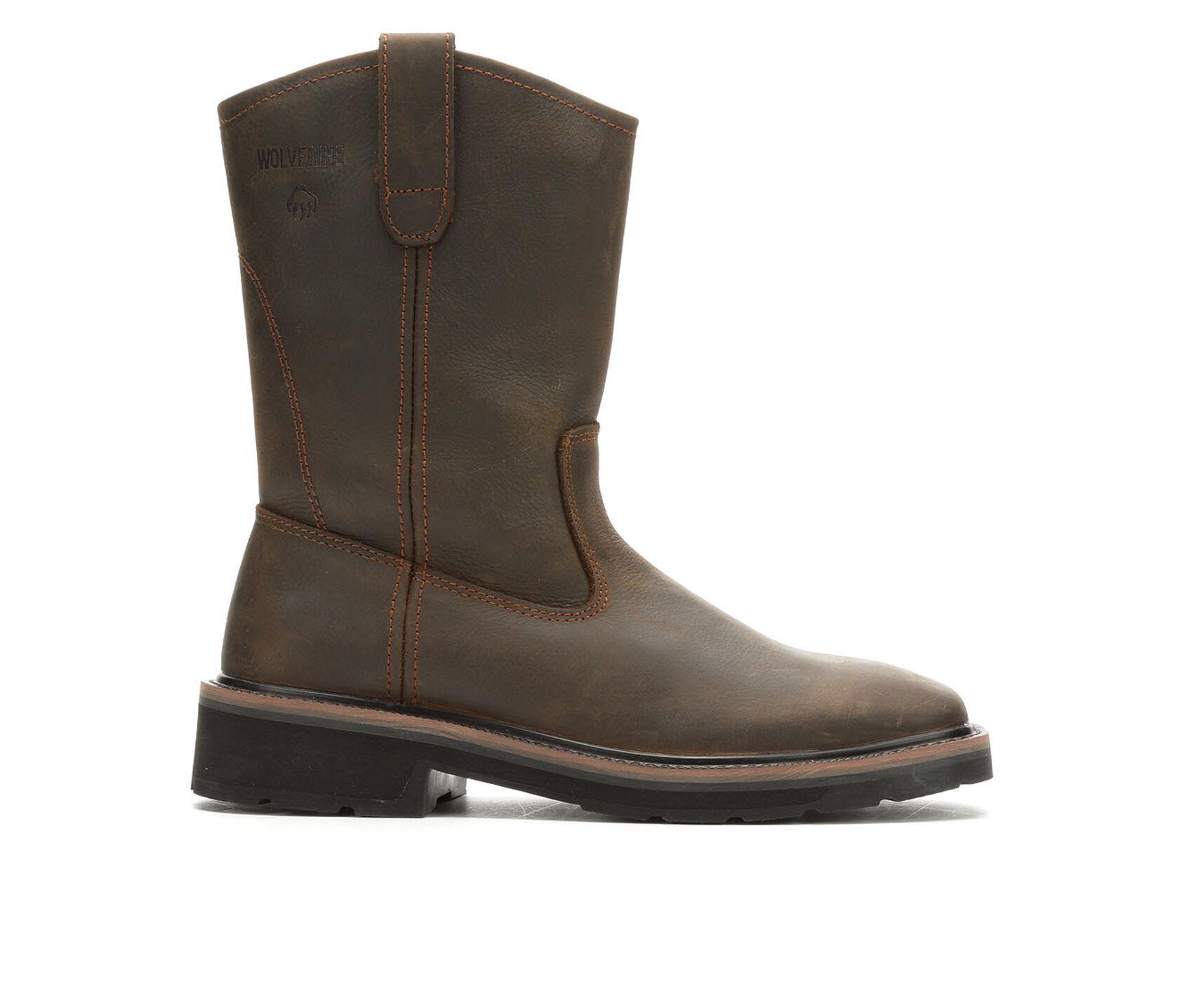 63c210d2992 Men's Wolverine Rancher Square Soft Toe W08181 Work Boots