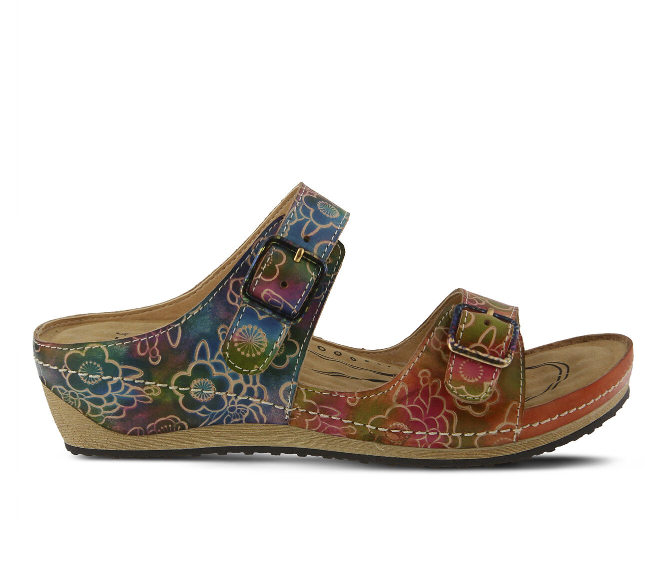 Women's L'ARTISTE Marilou Sandals Peach Multi