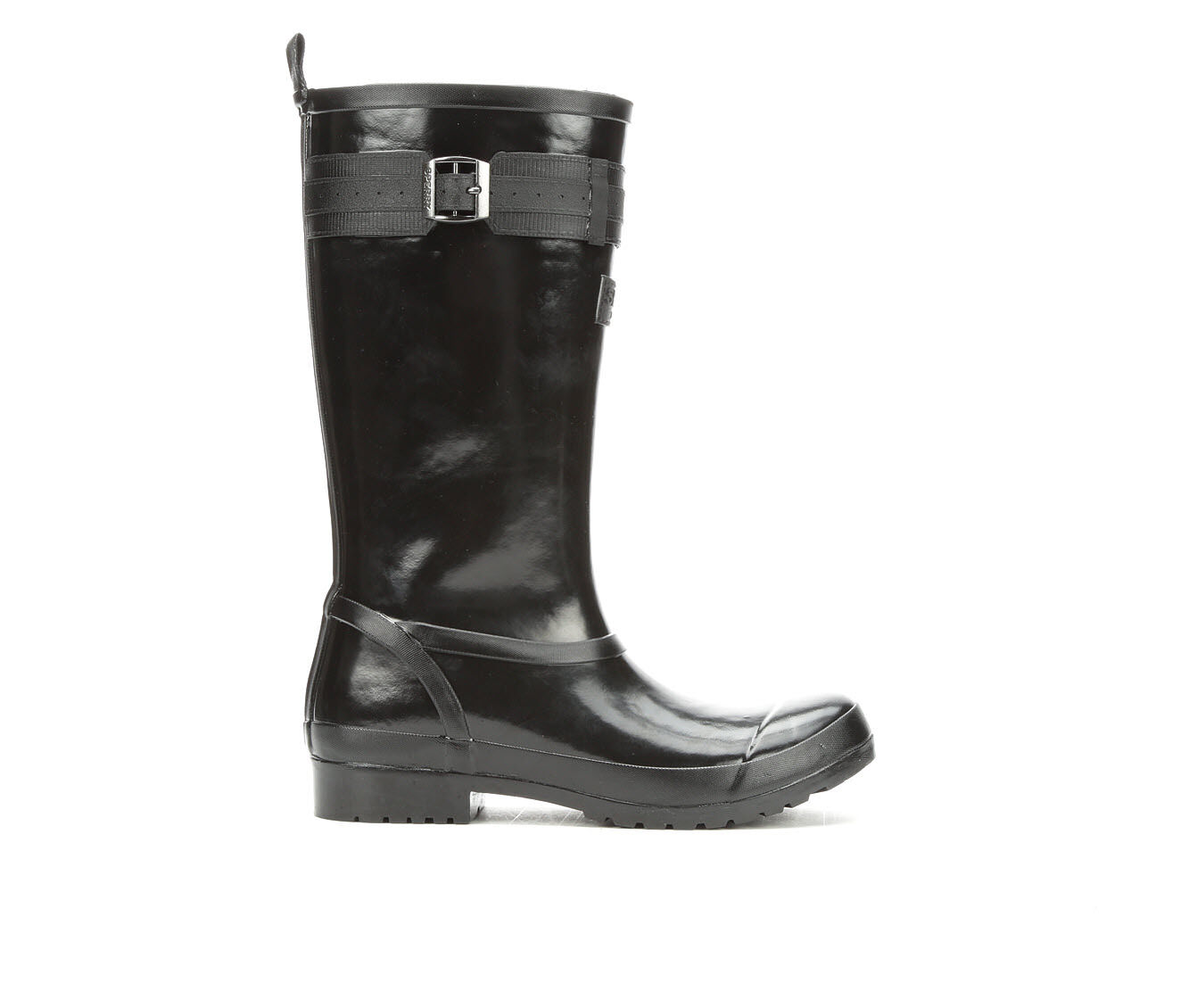Women's Sperry Walker Atlantic Rain Boots Black