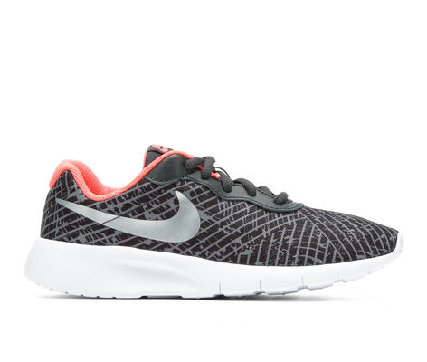 Girls' Nike Tanjun Print 3.5-7 Girls Sneakers