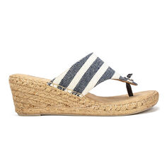 Women's White Mountain Beachball Wedges