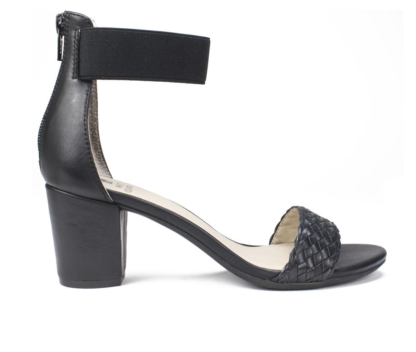 Women's White Mountain Eryn Dress Sandals Black