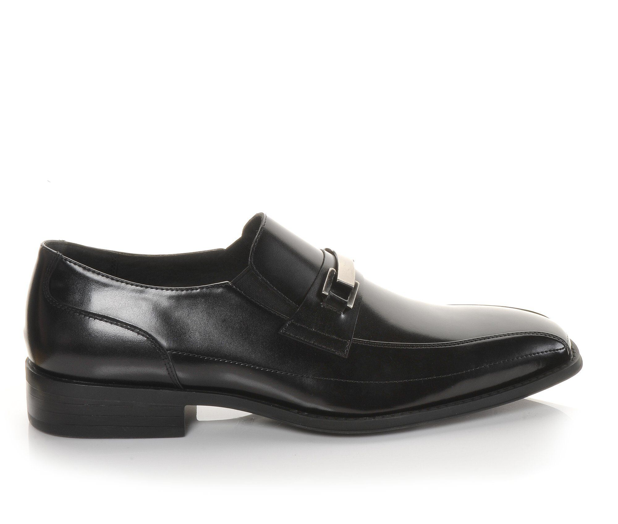 Men's Stacy Adams Wakefield Dress Shoes Black Smooth