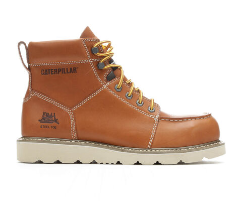 Men's Caterpillar Tradesman Steel Toe Work Boots