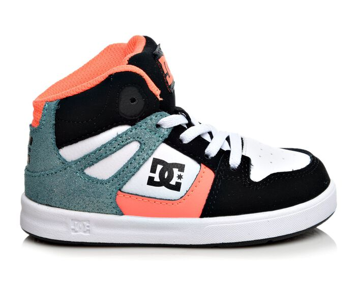 Girls' DC Infant Rebound SE UL Girls Skate Shoes