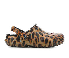 Women's Crocs Classic Lined Animal Clogs