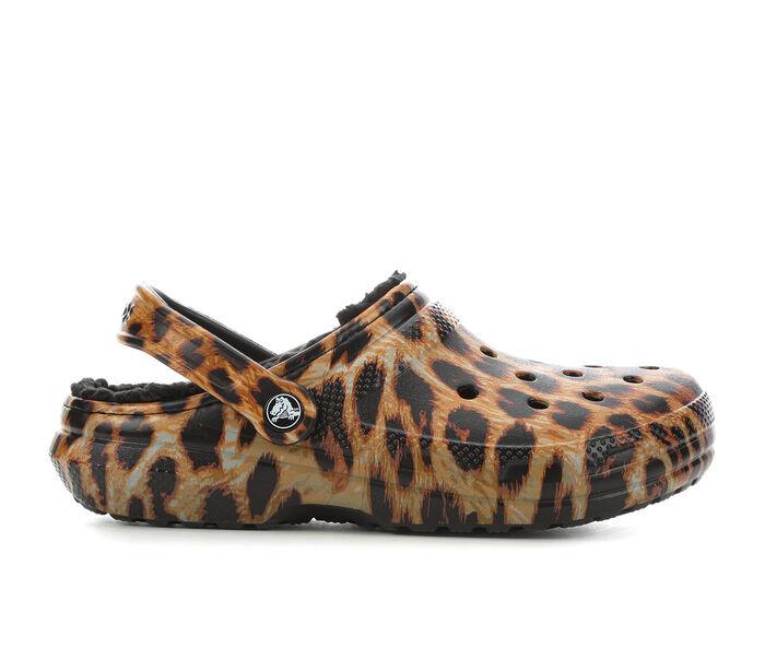 Women's Crocs Classic Lined Animal Clogs