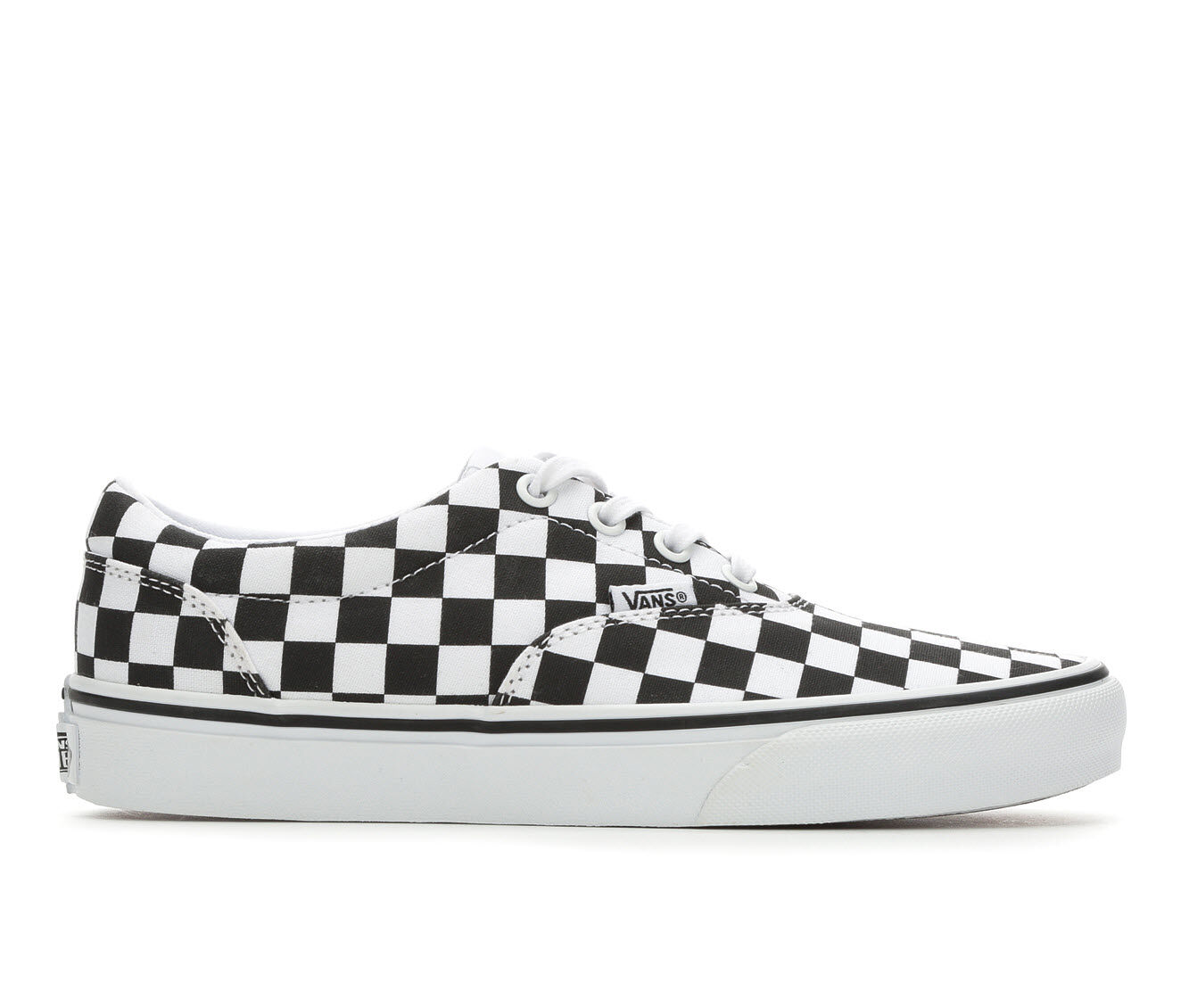 choose top quality Women's Vans Doheny Skate Shoes Blk/Wht Checker
