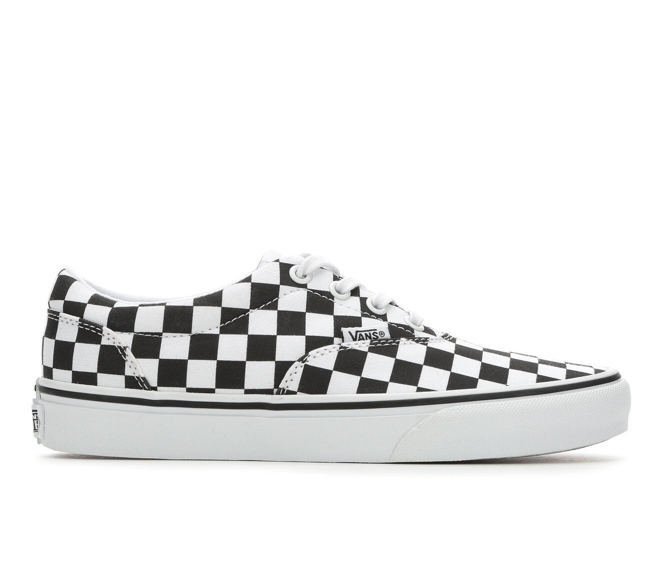 Women's Vans Doheny Skate Shoes Blk/Wht Checker
