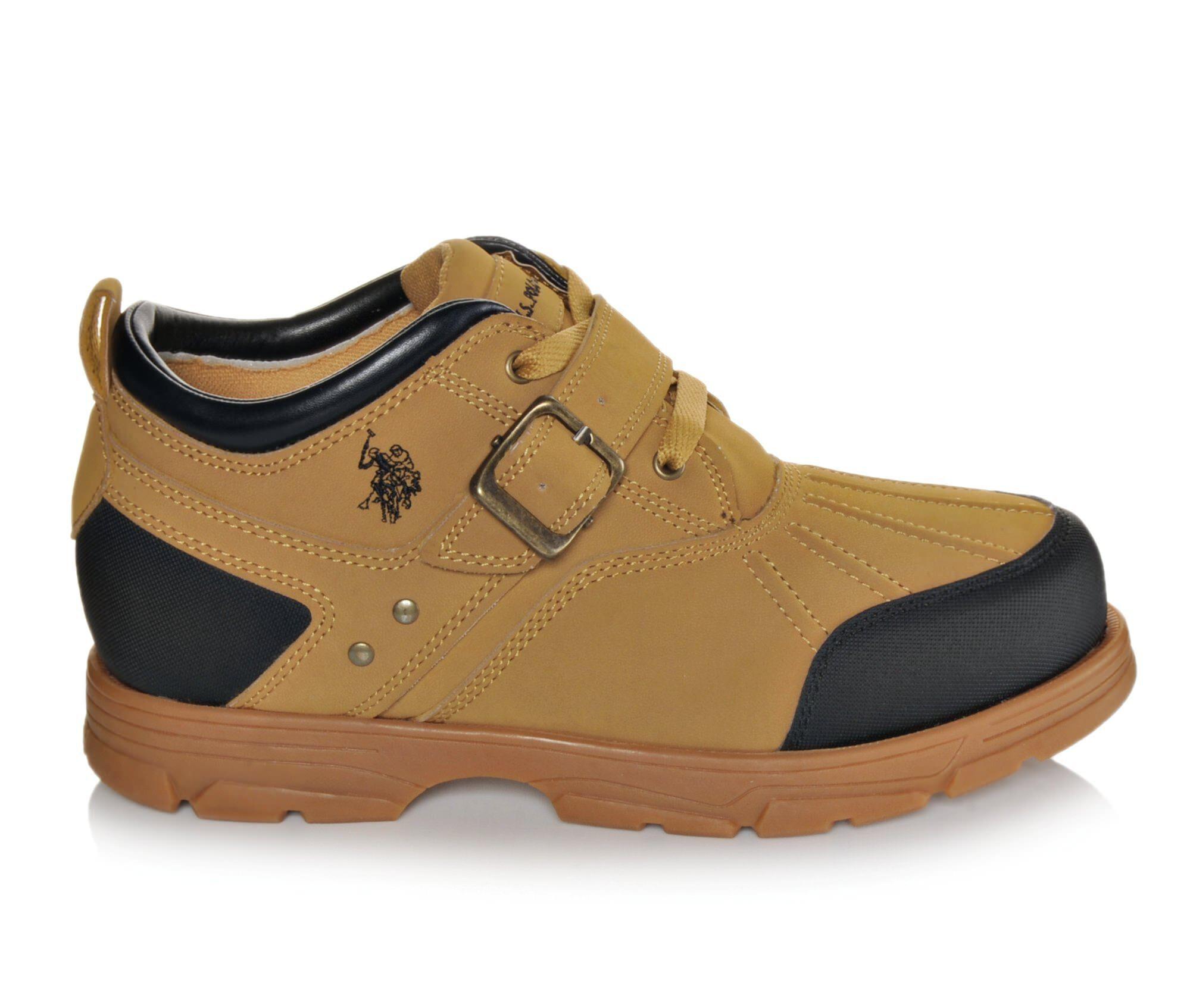 clearance Men's US Polo Assn Clancy II Boots Wheat Nubuck