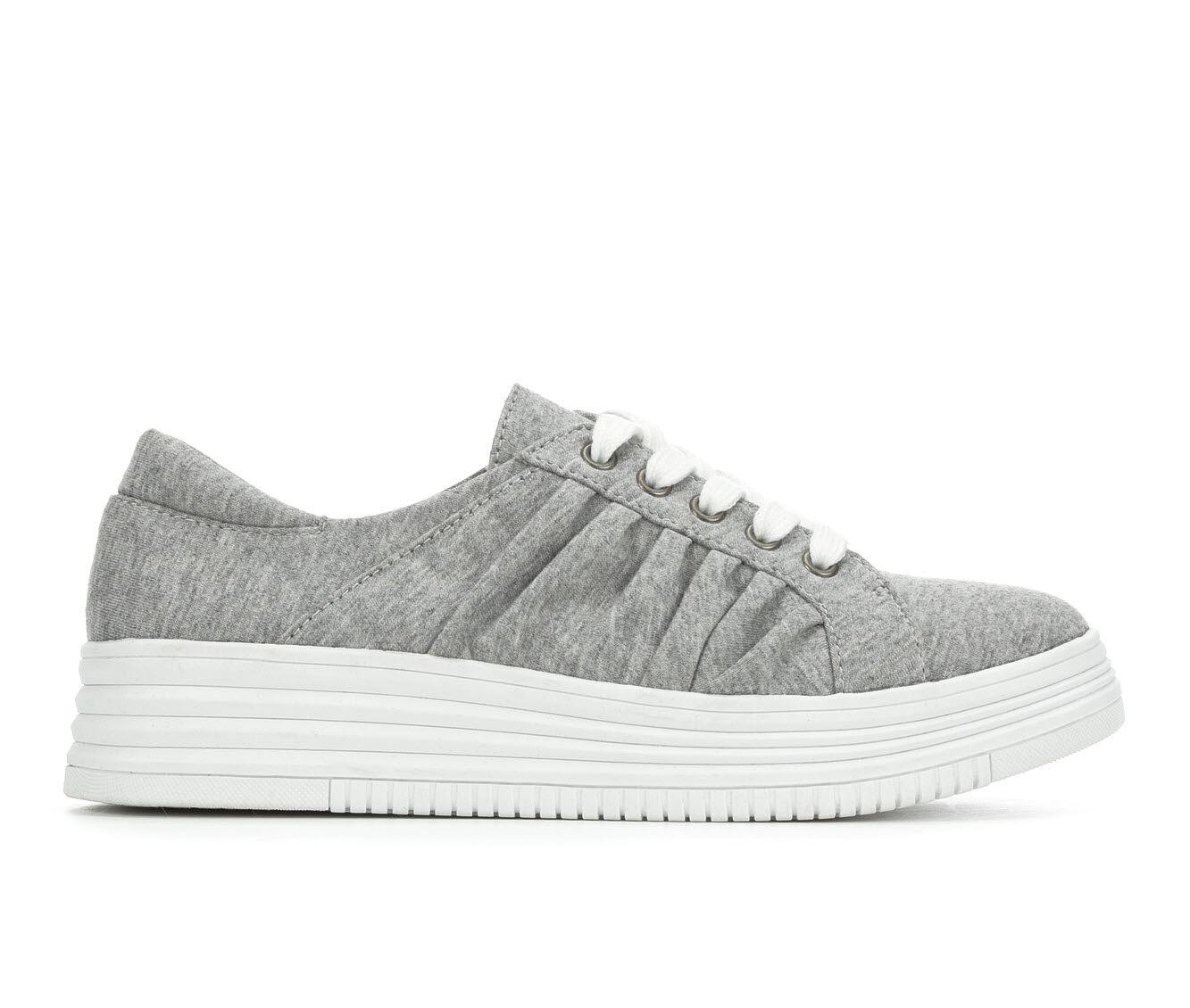 shop cheap new arrivals Women's Rocket Dog Basha Flatform Sneakers Grey Jersey