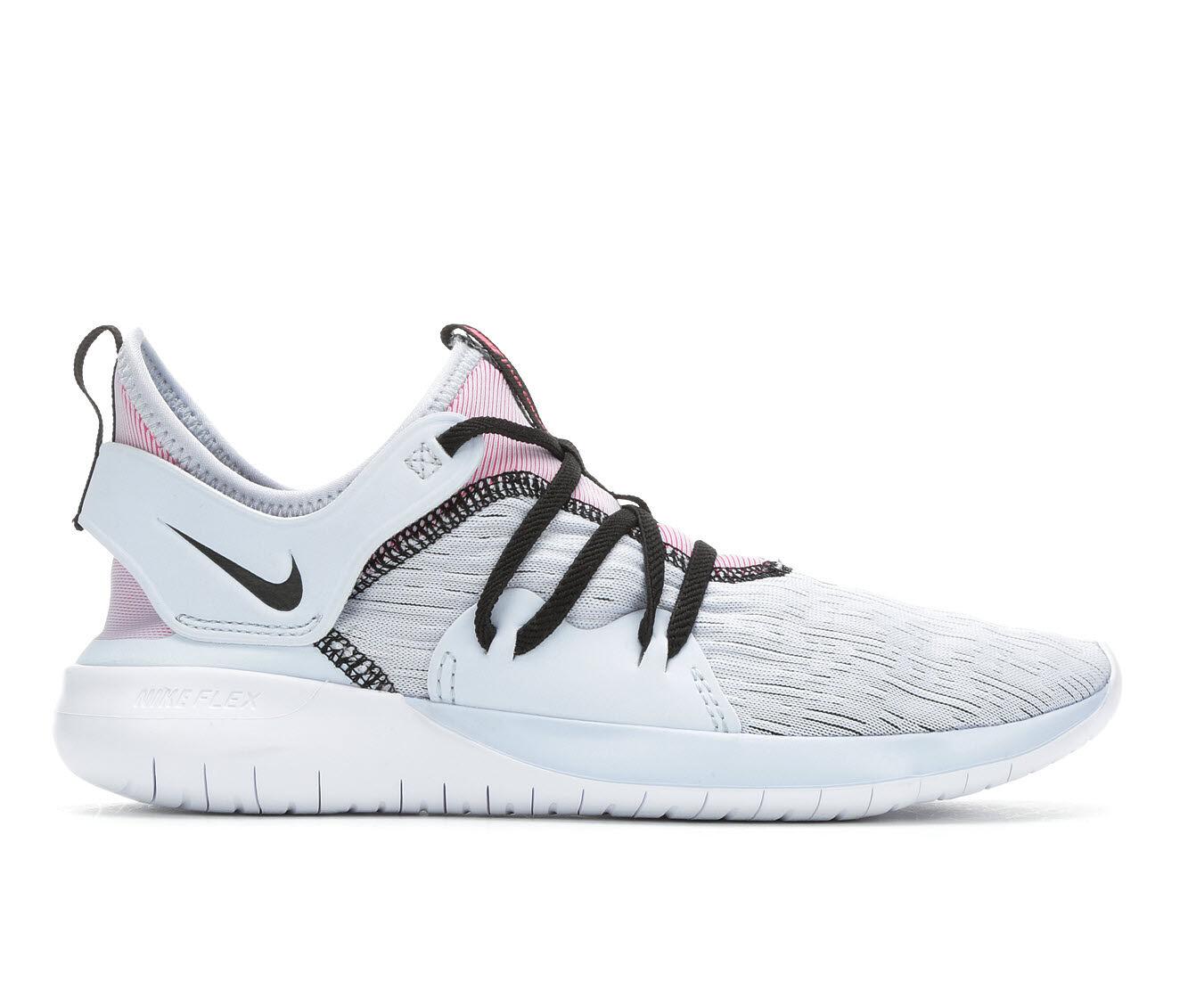 Women's Nike Flex Contact 3 Running Shoes Blue/Black/Pink
