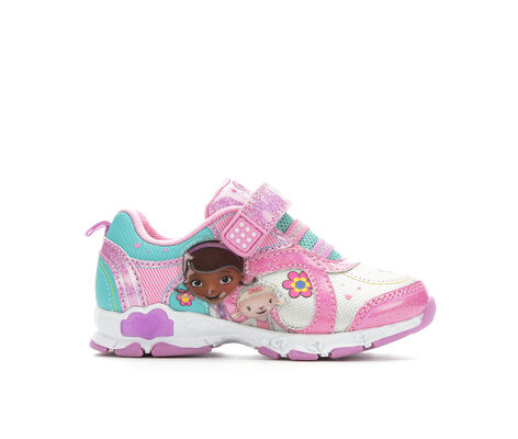 Girls' Disney Doc McStuffins 8 5-12 Velcro Sneakers