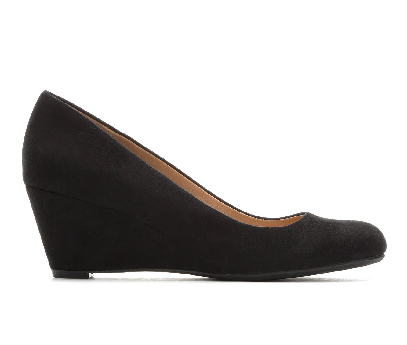 Women's David Aaron Traci Wedges Black Micro