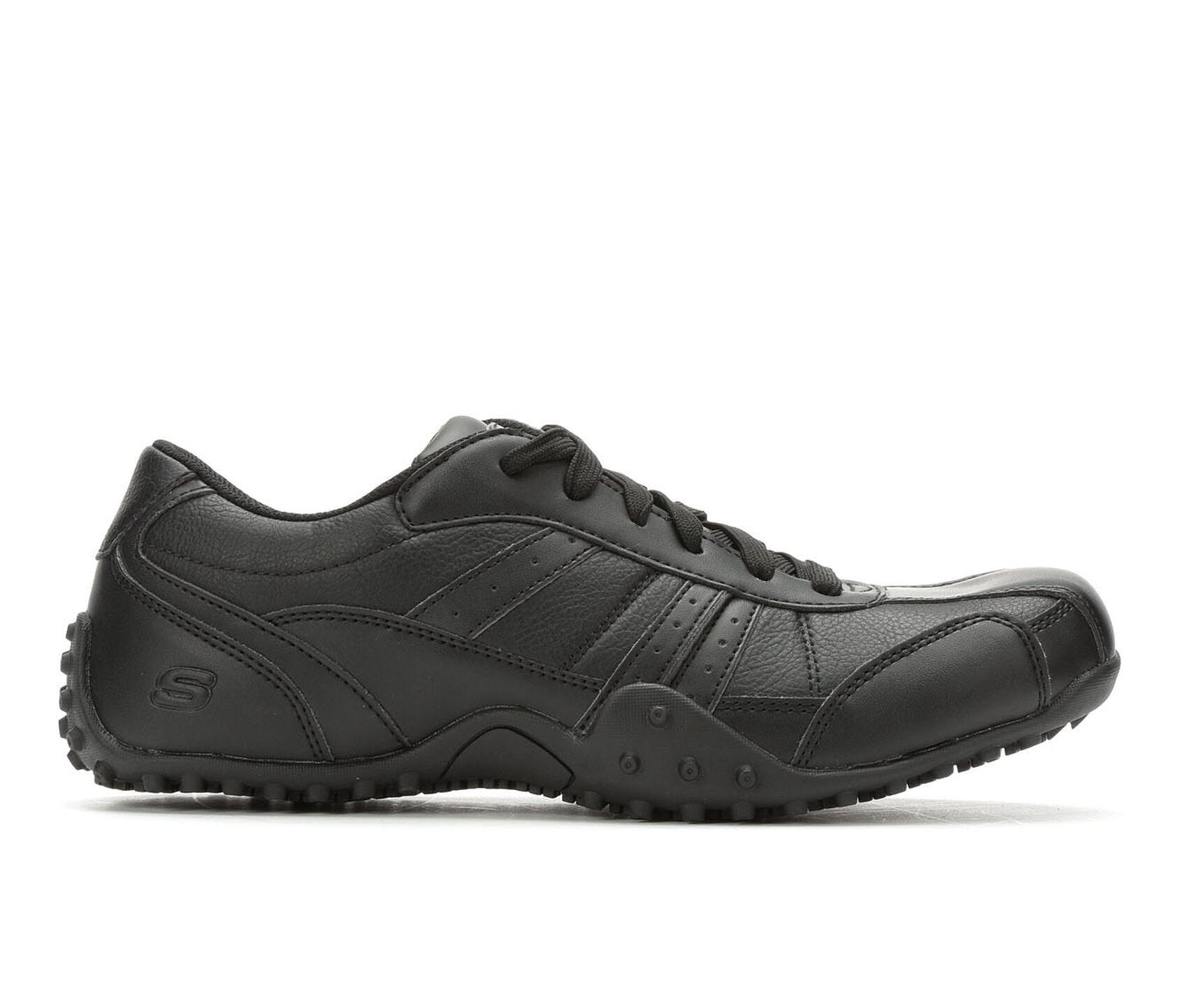 2600abd0e8158b Men s Skechers Work Elston 77038 Slip Resistant Safety Shoes