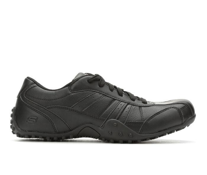 Men's Skechers Work Elston 77038 Slip Resistant Safety Shoes