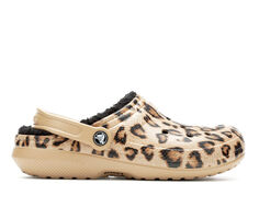 Women's Crocs Classic Lined Leopard Clog