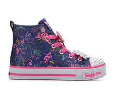 Girls' Skechers Twinkle Tag 10.5-4 Light-Up Sneakers