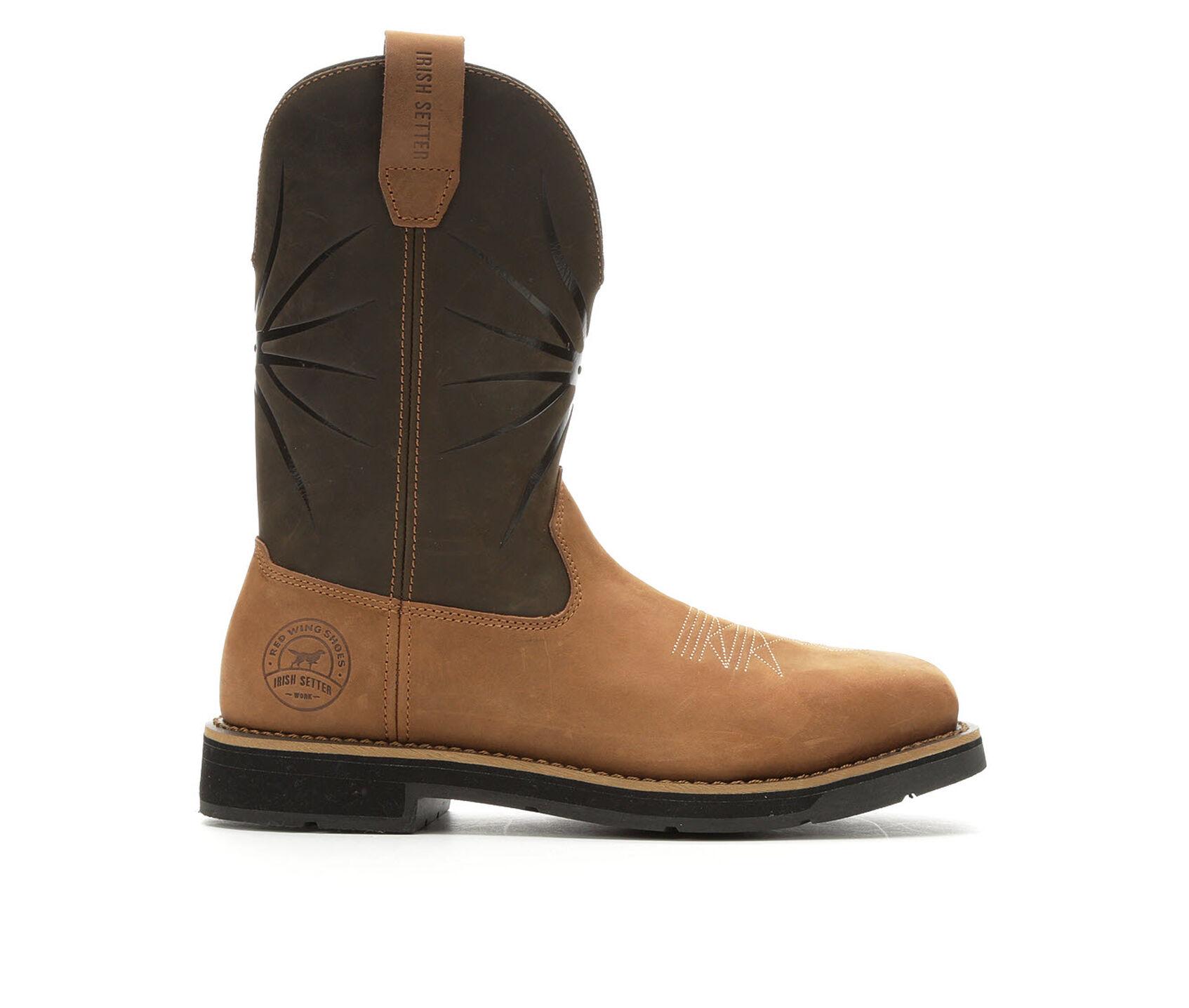 74023019c5c Men's Red Wing-Irish Setter Walker Steel Toe Work Boots