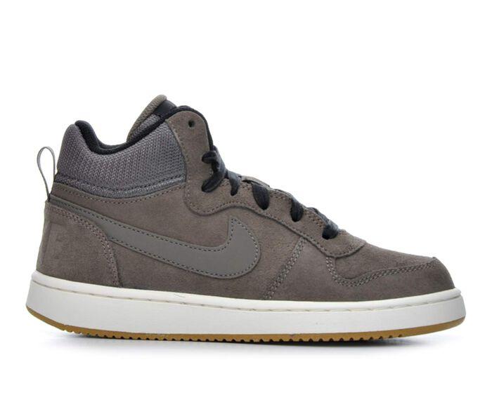 Boys' Nike Court Borough Mid Premium 3.5-7 Sneakers