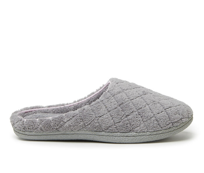 Dearfoams Leslie Quilted Terry Clog Slippers