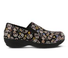 Women's SPRING STEP Ferrara Skulls Safety Shoes
