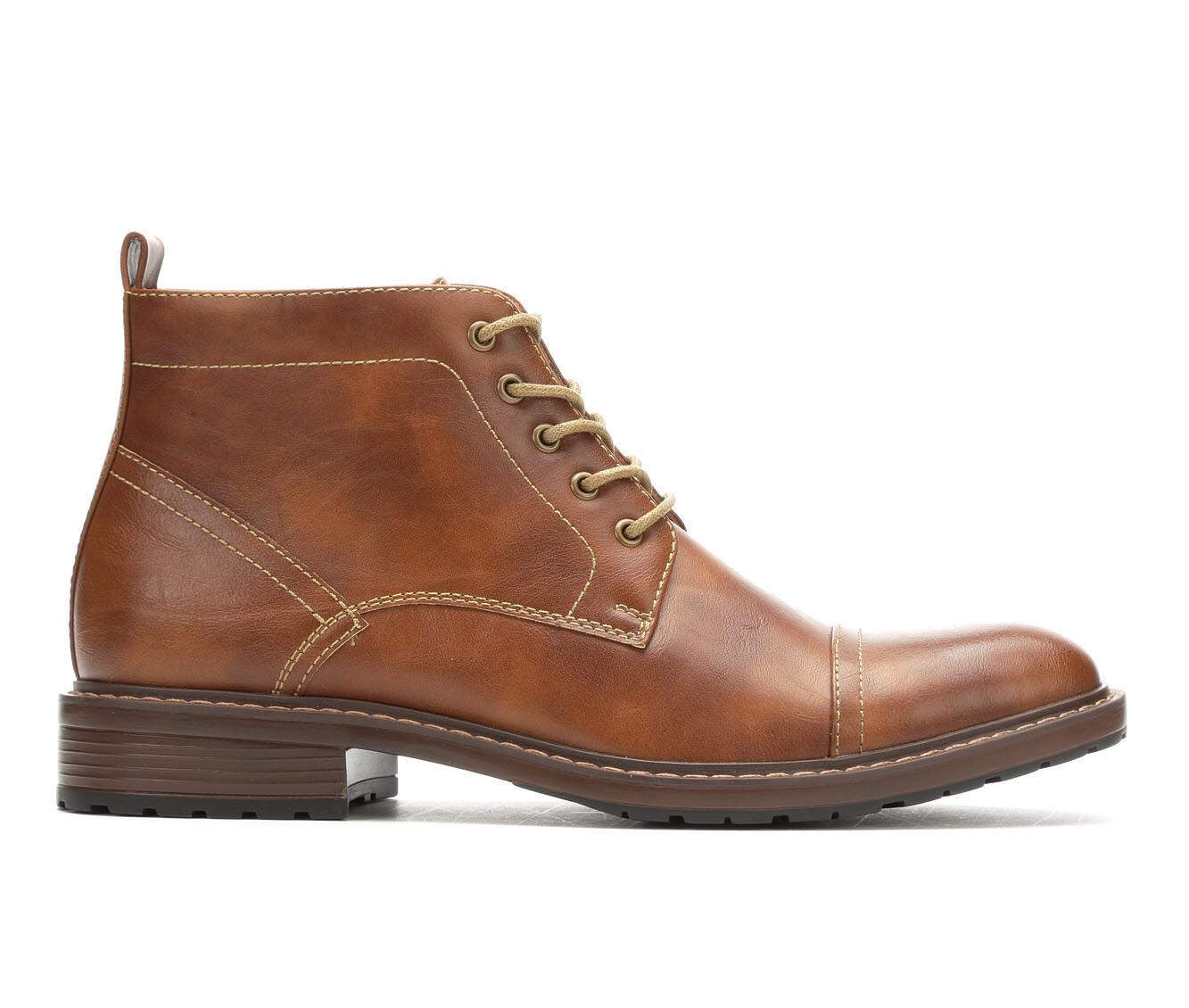Reliable Men's Perry Ellis Manning Boots Cognac