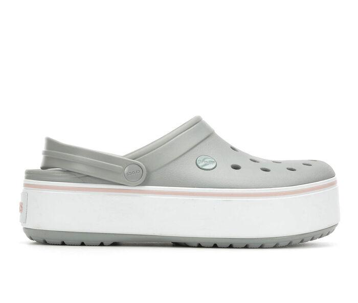 Women's Crocs Crocband Platform Clogs