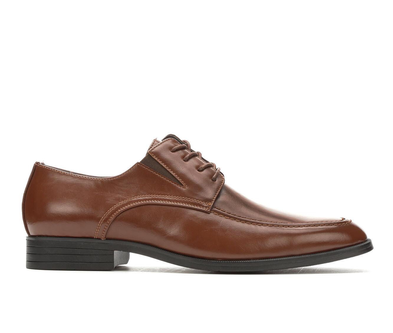 Men's Freeman Clayton Dress Shoes Saddle Tan