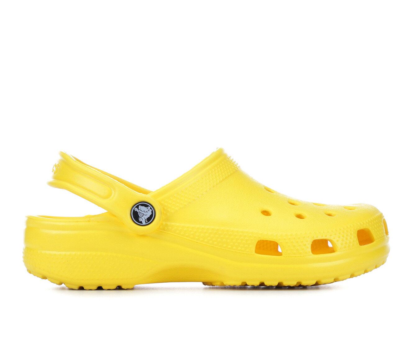 Women's Crocs Classic Clogs Lemon