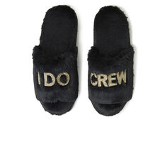 Dearfoams I Do and I Do Crew Slide Slippers