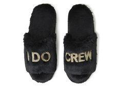 Dearfoams I Do and I Do Crew Slide