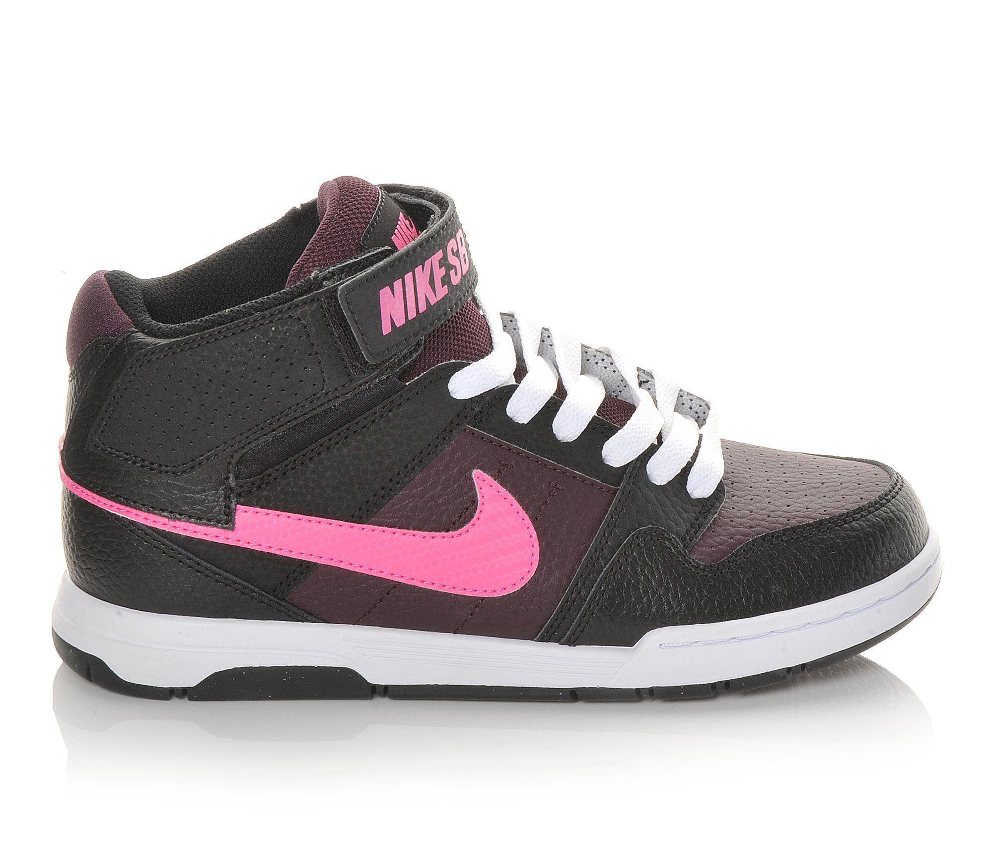 Images Girls Nike Mogan Mid 2 Jr 1057 Skate Shoes