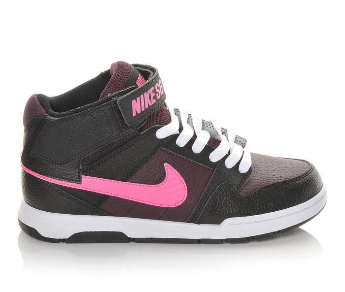 Girls' Nike Mogan Mid 2 Jr 10.5-7 Skate Shoes