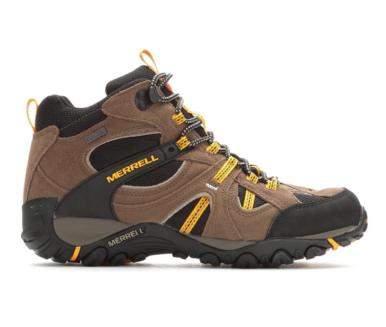 Men's Merrell Yokota Trail Mid Waterproof Hiking Boots