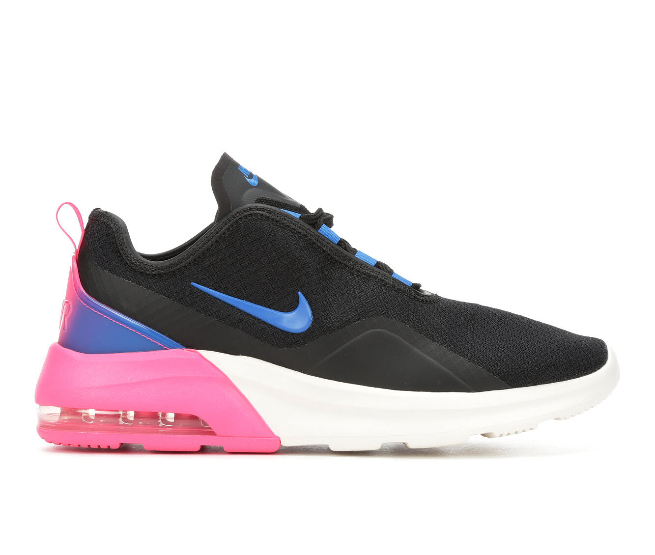 hot sale Women's Nike Air Max Motion 2 Sneakers Black/Blue/Pink
