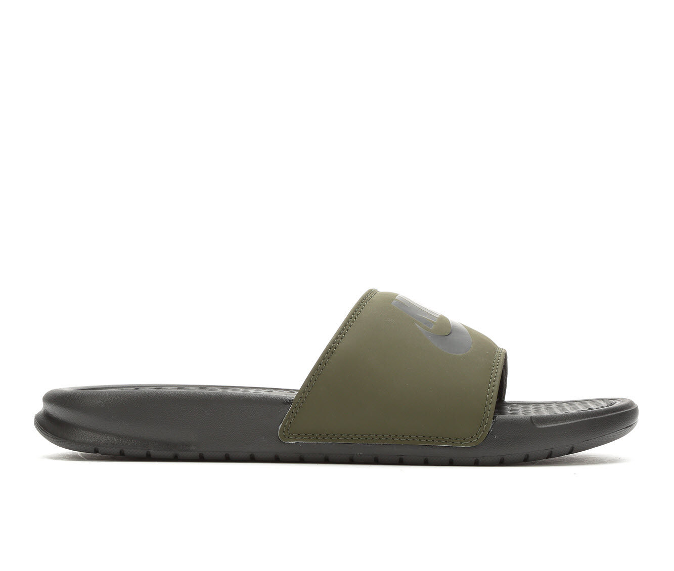 buy cheap new arrivals Men's Nike Benassi JDI Sport Slides Cargo/Black