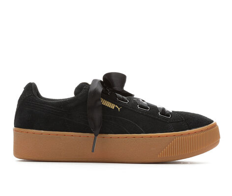Women's Puma Vikky Platform Ribbon Sneakers