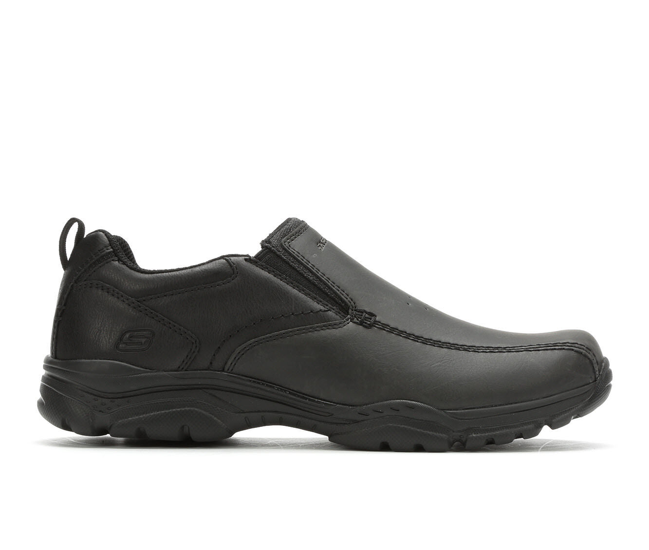 Men's Skechers Venten 65415 Casual Moc Loafers Black