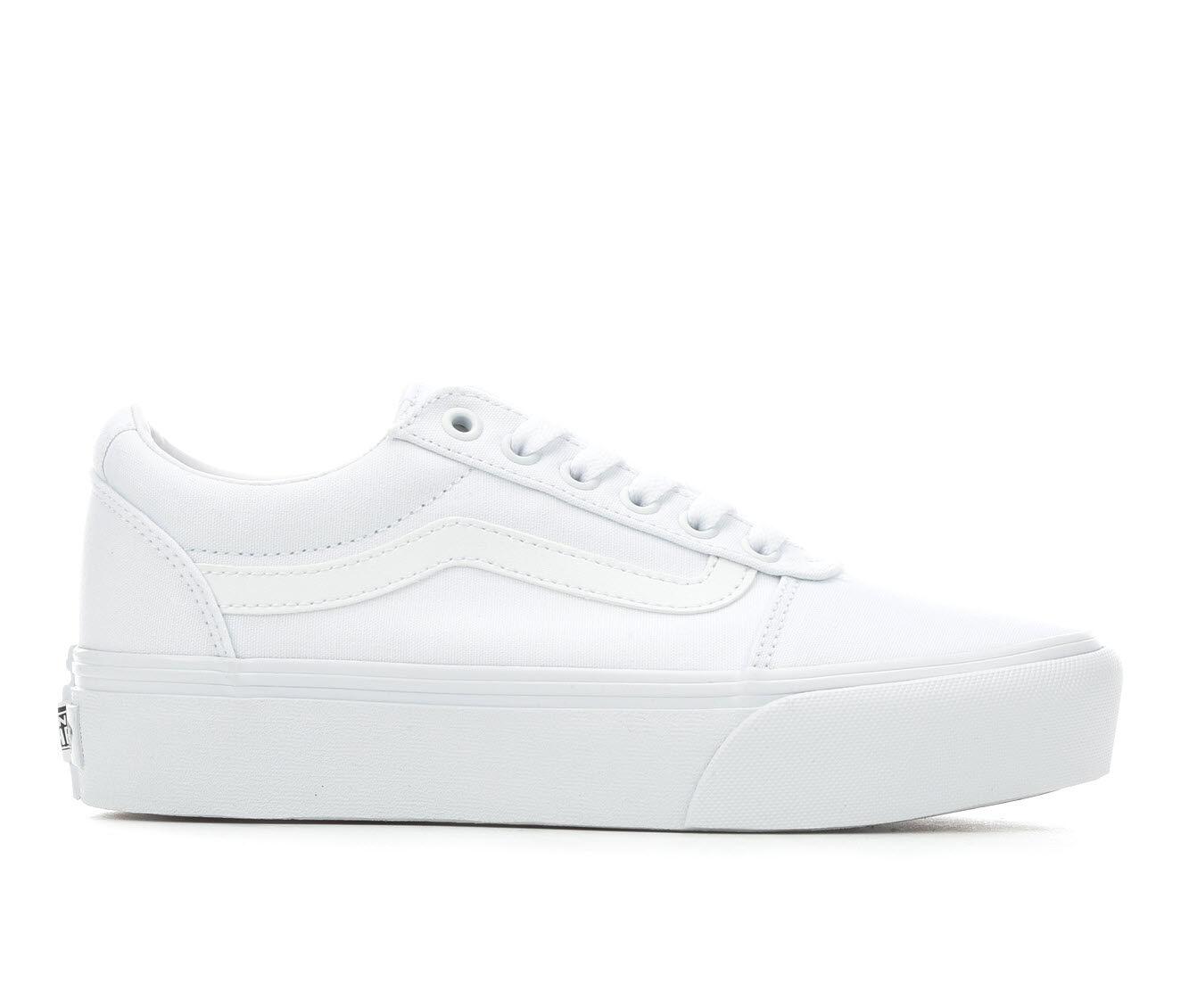 Women's Vans Ward Platform Skate Shoes