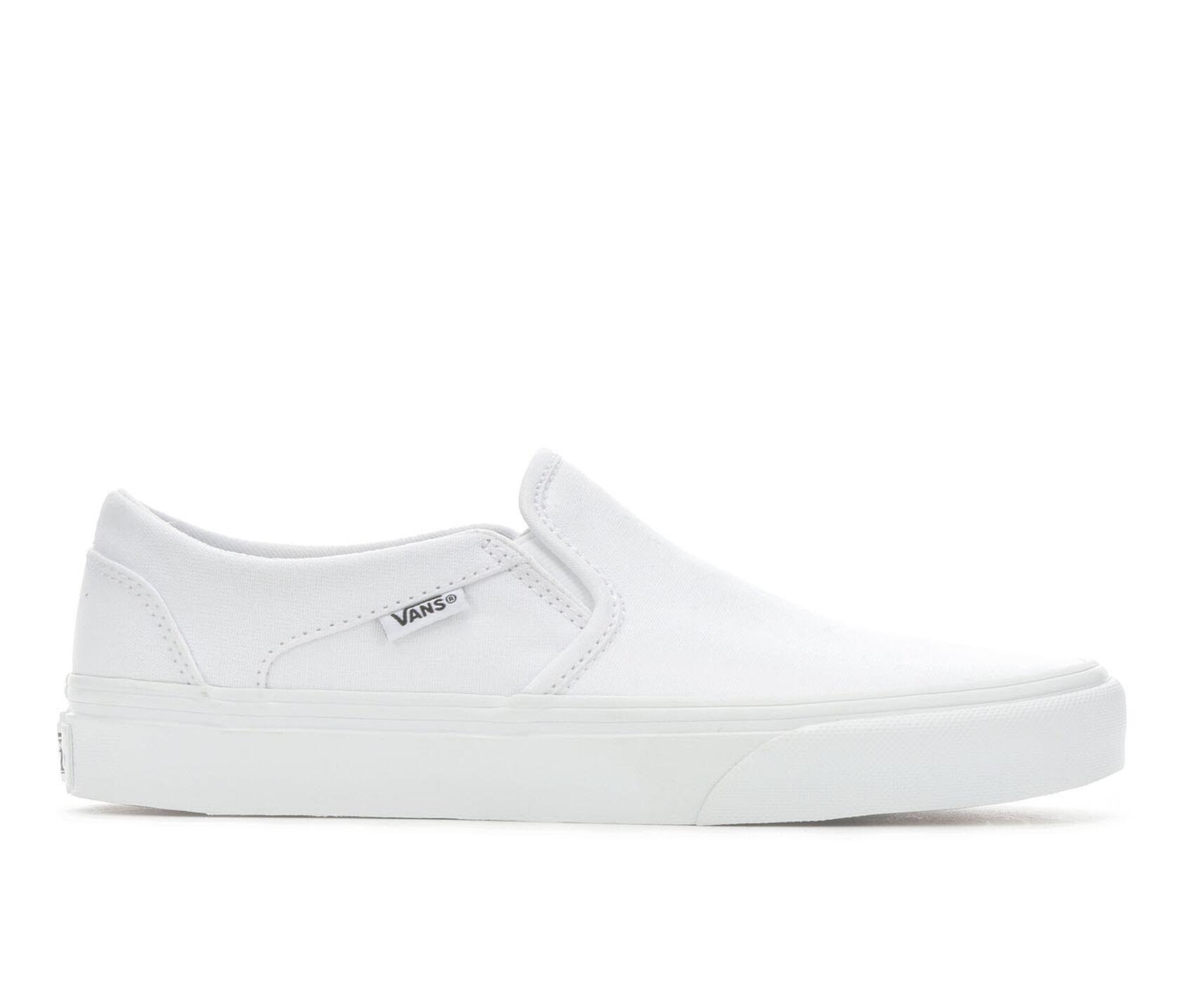 ba2bb9c74921 Women's Vans Asher Slip-On Skate Shoes | Shoe Carnival