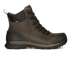Men's Bogs Footwear Foundation Leather Mid Soft Toe Work Boots